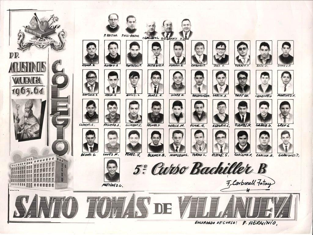 orla colegio Agustinos de Valencia